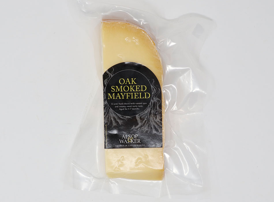 Alsop and Walker Mayfield Oak Smoked Cheese 1