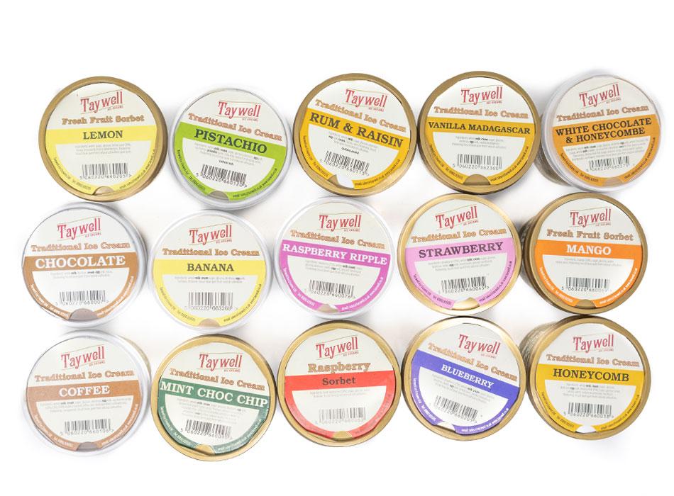 Taywell Ice Cream - 125ml 1
