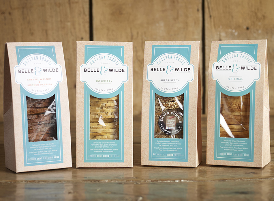 Belle & Wilde Gluten-free Artisan Toasts 1