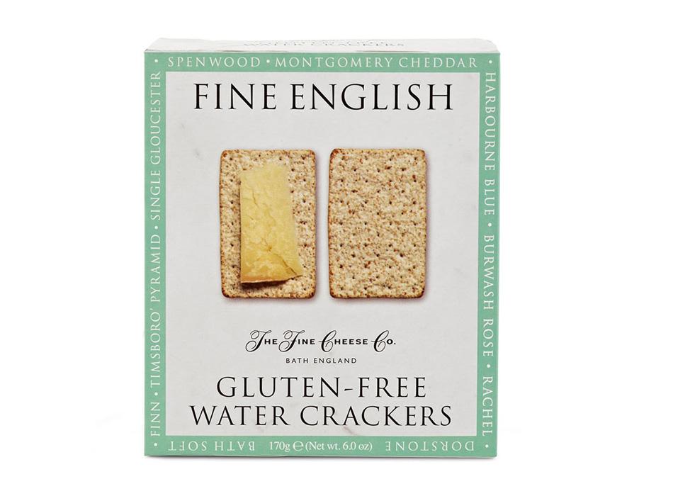 Gluten-free Fine English Water Crackers 1