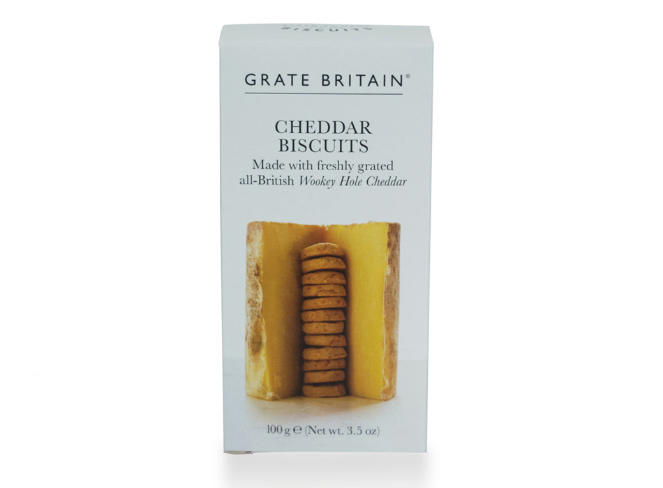 Grate Britain Cheddar Cheese Biscuits 1