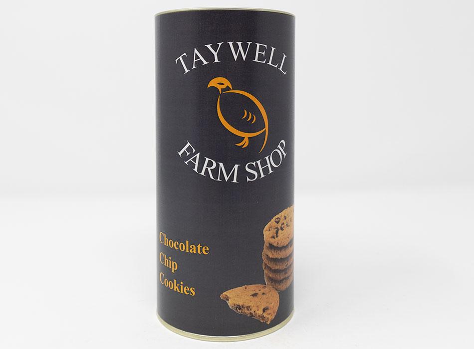 Taywell Chocolate Chip Cookies Tube 1