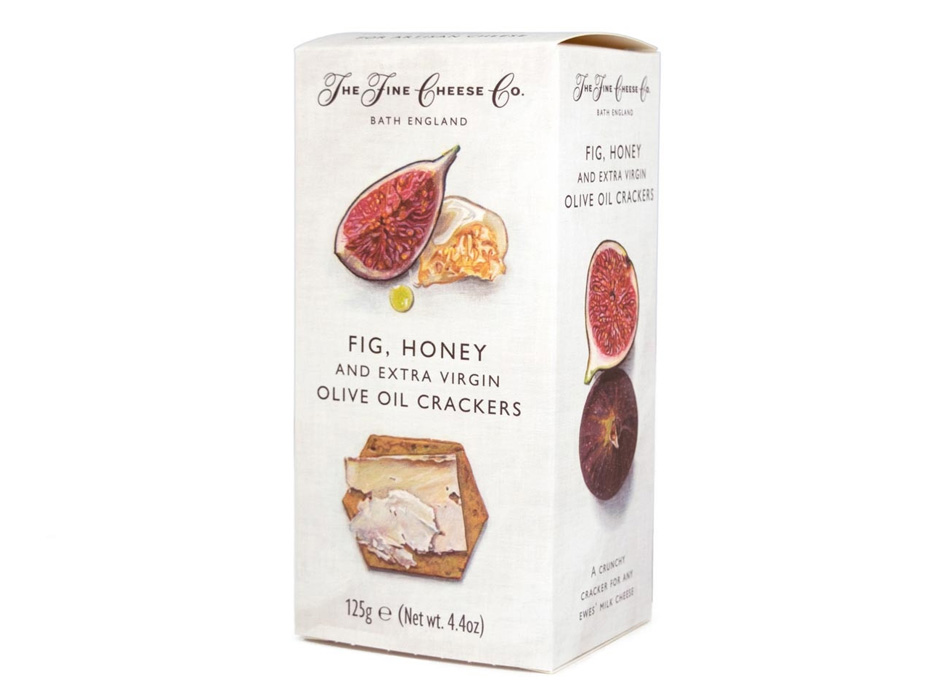Fig, Honey and Extra Virgin Olive Oil Crackers 1