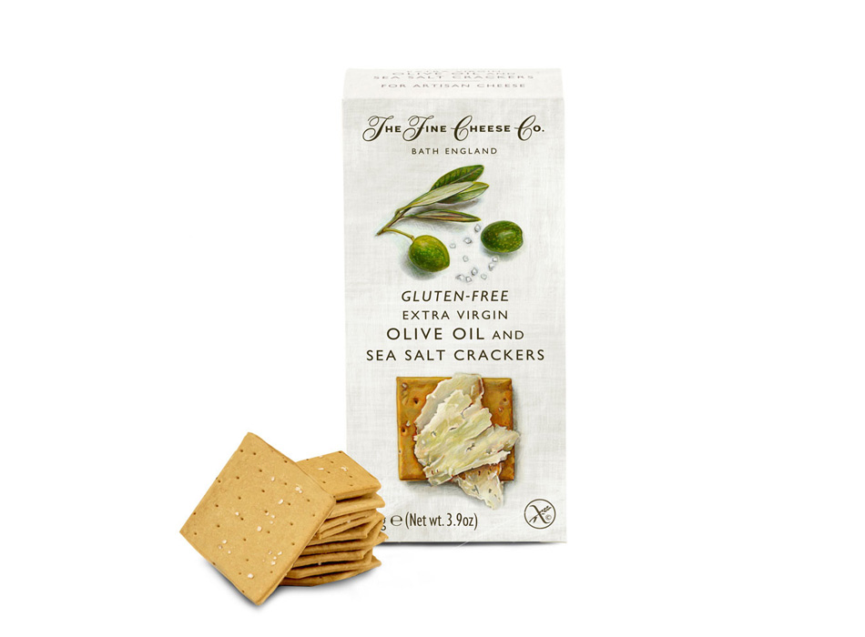 Gluten-free Extra Virgin Olive Oil and Sea Salt Crackers 1