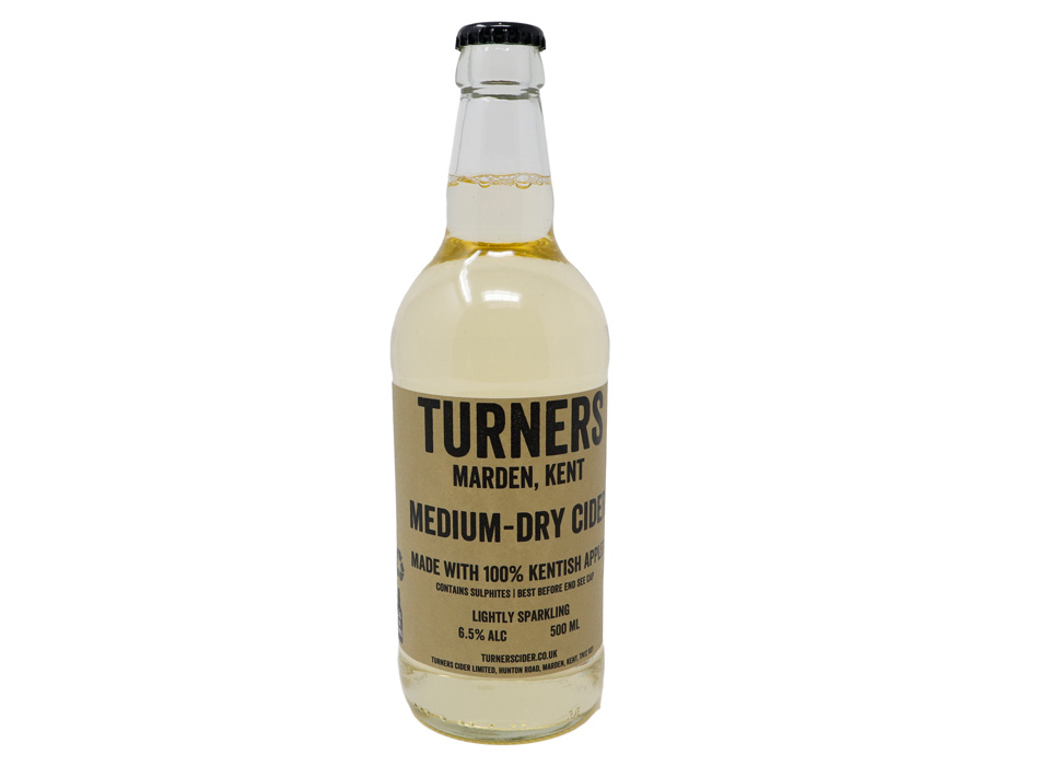 Turners Medium Dry Sparkling Cider 1