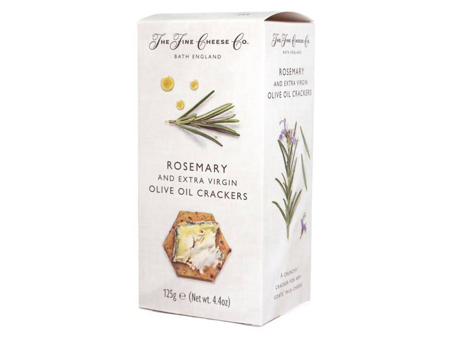 Rosemary and Extra Virgin Olive Oil Crackers 1