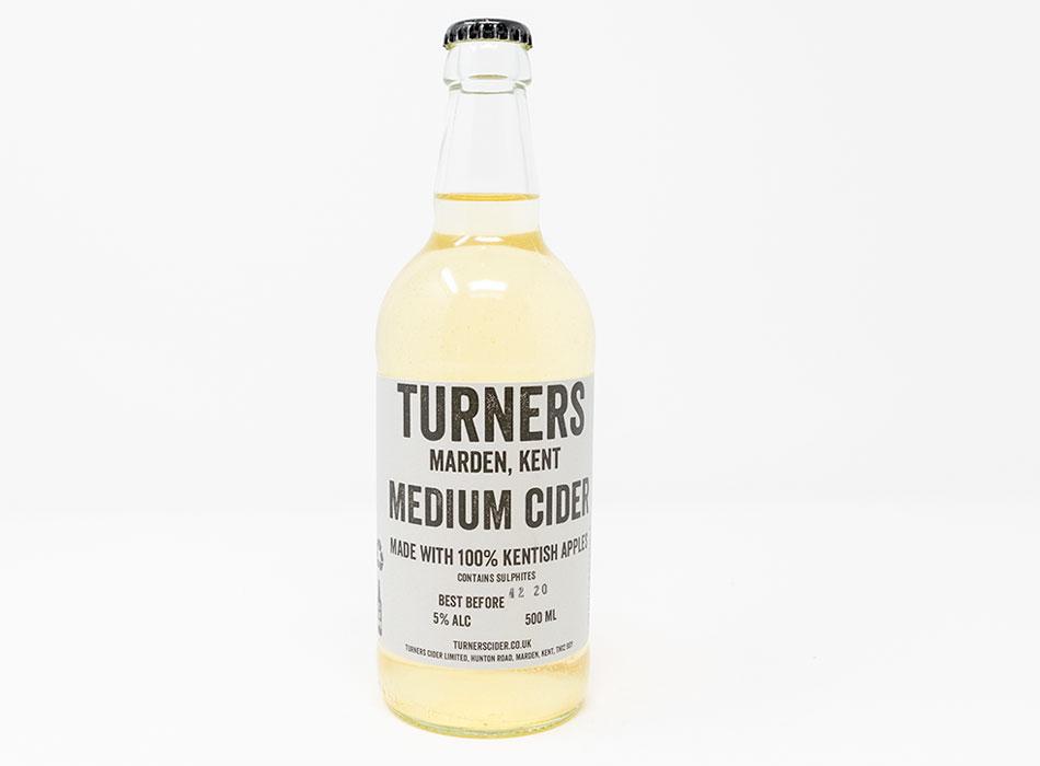 Turners Medium Cider 1
