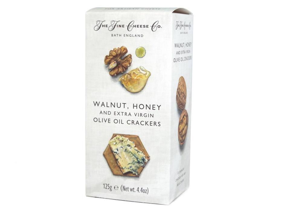 Walnut, Honey and Extra Virgin Olive Oil Crackers 1