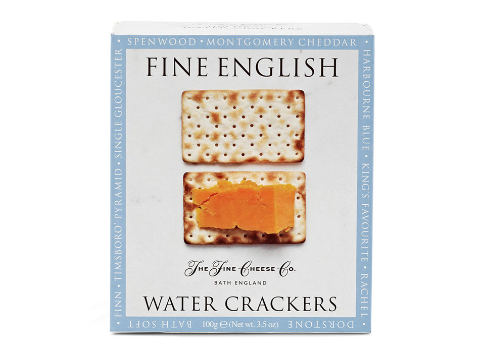 Fine English Water Crackers 1
