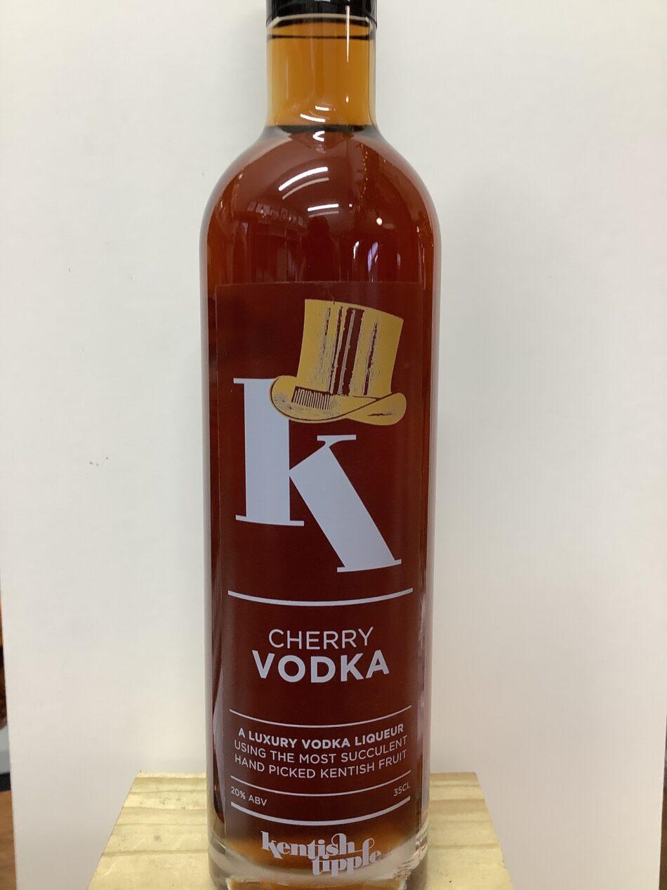 Kentish Tipple Cherry Vodka 1
