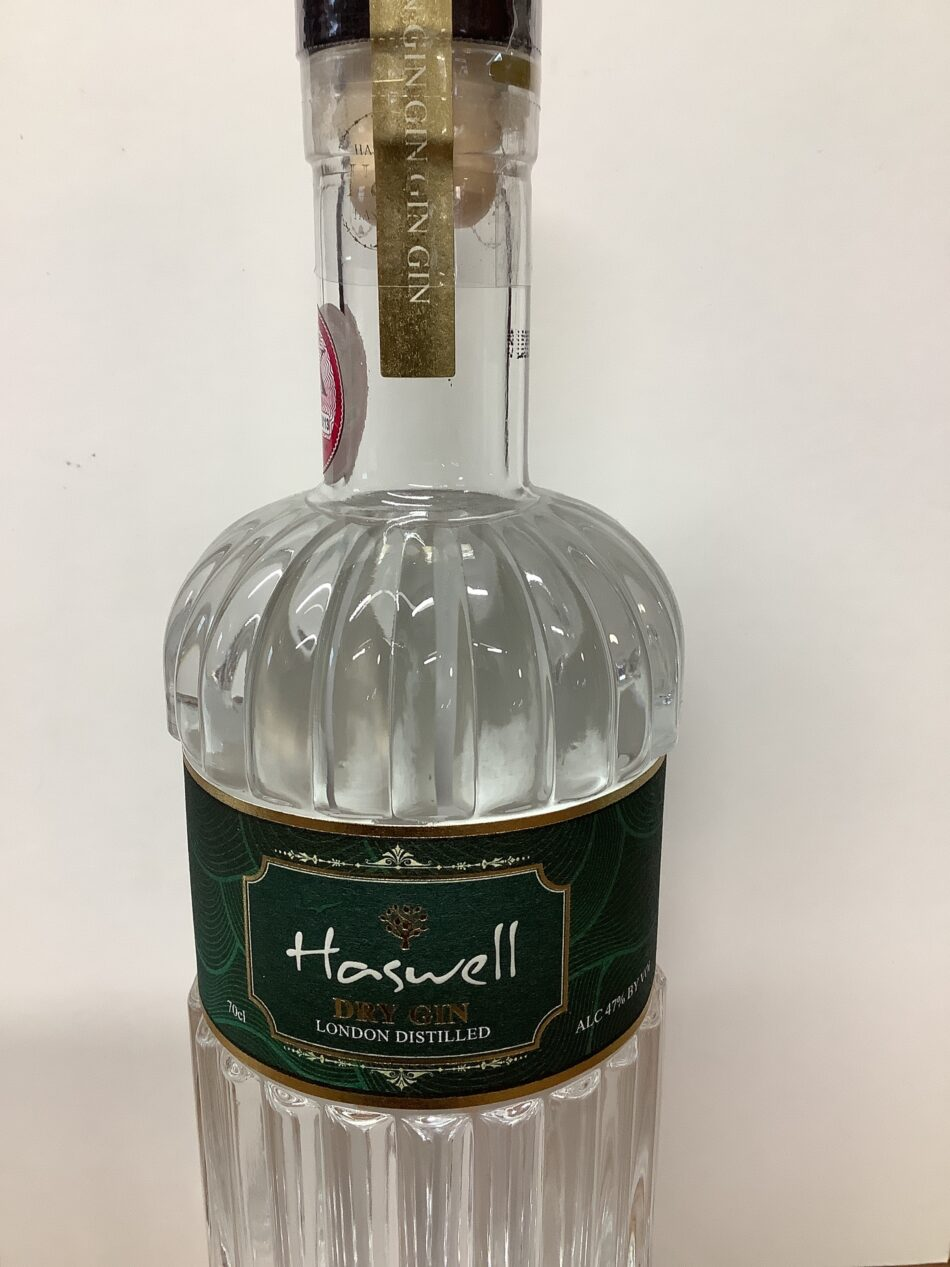 Haswell Dry Gin 1