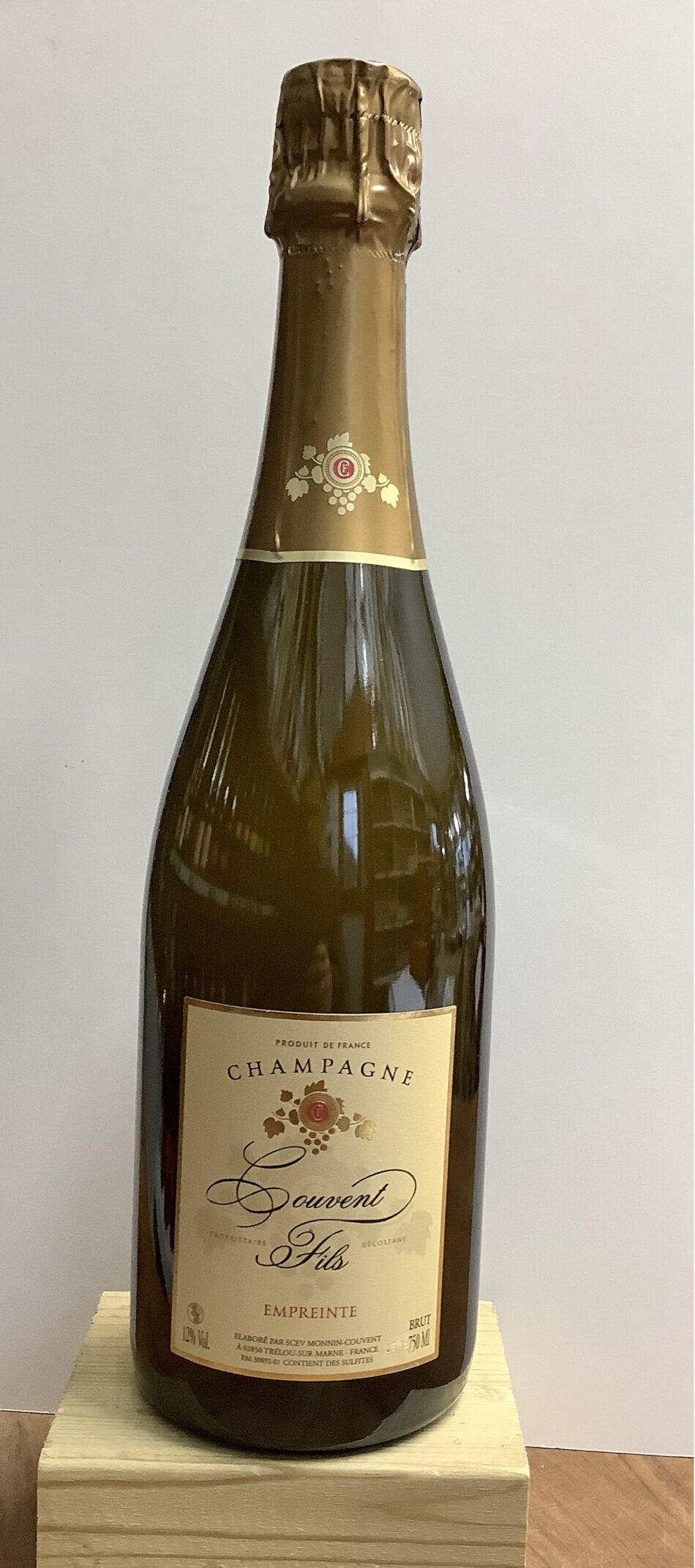 Couvent Fils Empreinte Champagne 1