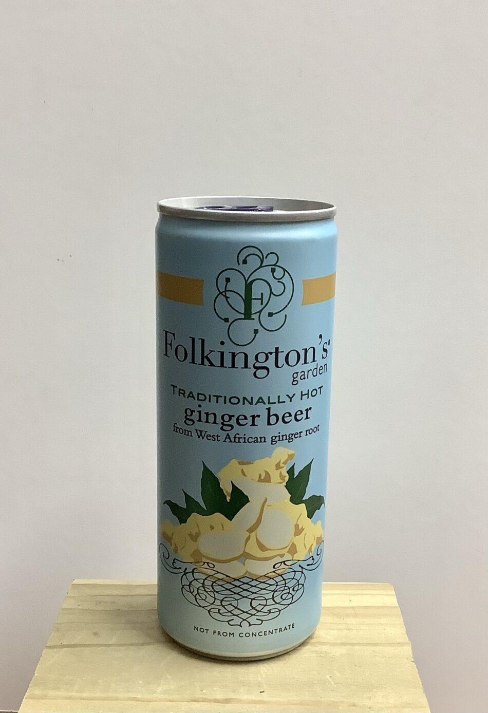 Folkington's Ginger Beer, 250ml 1